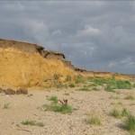 Abbruchkante bei Utersum-Hedehusum