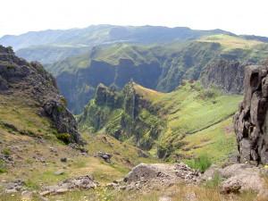 Madeira: Blick vom Pico-do-Arieiro © felicitas / Quelle: www.pixelio.de