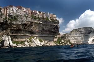 Bonifacio - Stadt auf Felsen © Dietmar Meinert / Quelle: www.pixelio.de