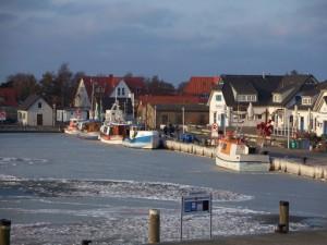 Kutterhafen Vitte auf Hiddensee © lusa58 / quelle: pixelio.de
